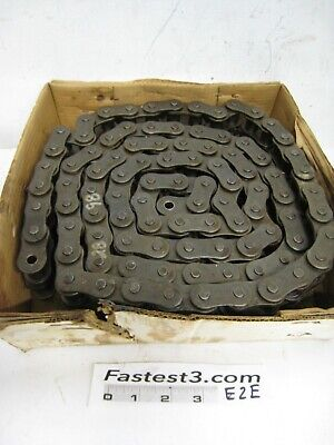 New Drives Roller Chain 100h-2r Pitch 1-14 Riveted Double Strand 10