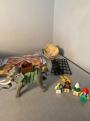 LOT LEGO Orient Expedition Manuals 7411 7412 7413 7414 7415 ELEPHANT Minifigs