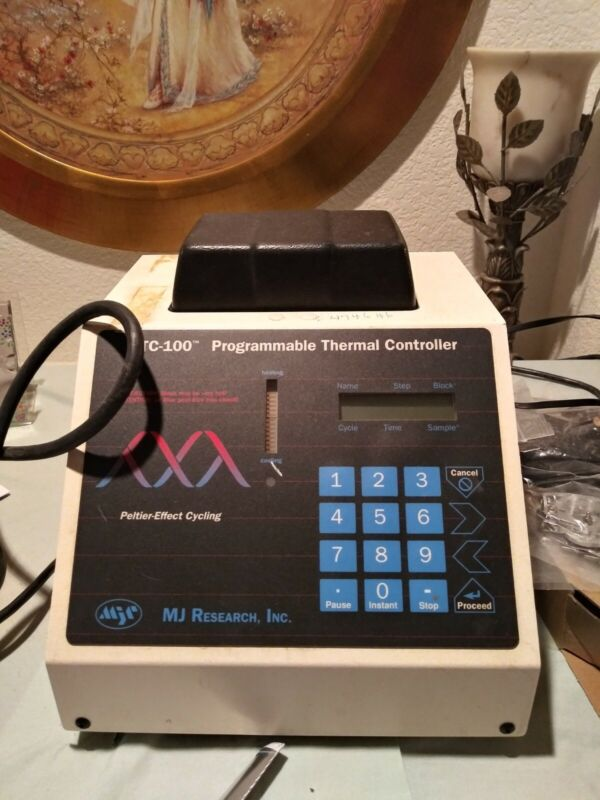 PCR machine Programmable Thermal Controller 100% functional 60 well block