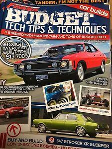Budget tech tips and techniques mags Dundas Parramatta Area Preview
