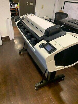 Hp Designjet T2300 44 Inch Plotter Wide Format Scanner Printer Color Oem Demo