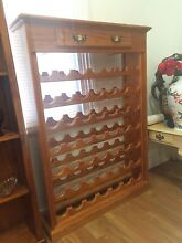 Large wooden wine rack Sandy Bay Hobart City Preview