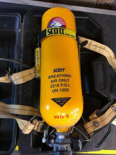 Vintage Fire Dept Scott Air Pack