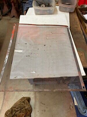 J.i. Case 500d Tractor Front Radiator Screen
