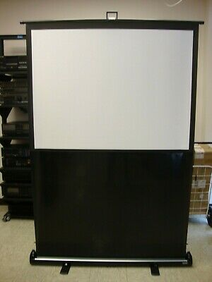Da-lite Deluxe Insta Theater 60 43 Projector Screen 83315 W Jelco Flight Case