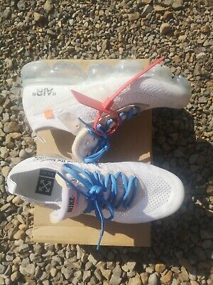 Nike Air Vapormax Flyknit X Off-White Size UK 7.5 (white laces included)