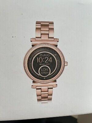 Michael Kors Access Smartwatch Sofie Gen 2 42mm Case Gold Stainless Steel Strap