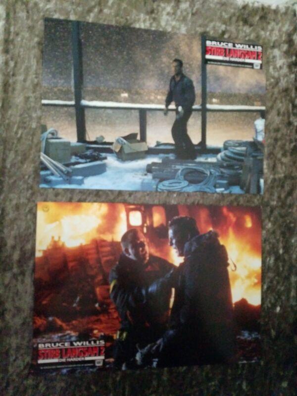 Die Hard 2 lobby cards/stills - Bruce Willis - Die Hard Die Harder