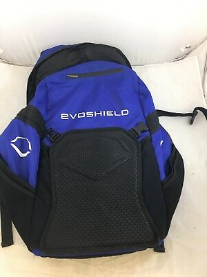 USED EvoShield Bat Pack Black Baseball & Softball Backpack (BR)