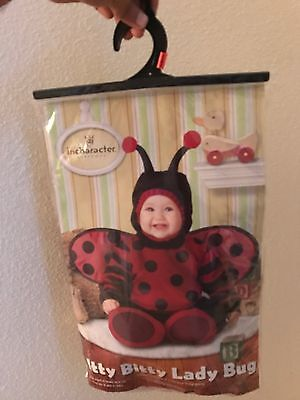 Lady Bug Halloween Costume For 6 Month Old Infant  (Halloween Costumes For Infants 3 6 Months)