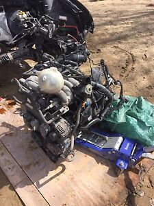 Complete engine with harness and ecm 05 golf/Jetta 2.0l