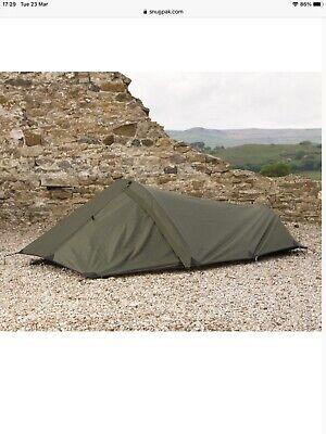 Snugpak Ionosphere 1 Person Tent Bivy Bivvy - Olive Green