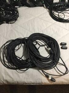 Câbles (Fils) pour équipement audio: XLR - Jack 1/4 - Speakon