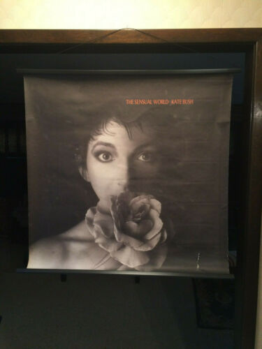 "Kate Bush ""The Sensual World"" Promotional US Poster"