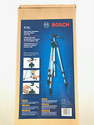 BRAND NEW Bosch Professional Leveling Tripod BT250 Adjustable & Telescoping 8ft