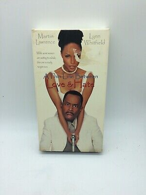 A Thin Line Between Love And Hate (Martin Lawrence, Lynn Whitfield) - VHS (1996)