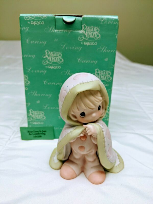 Precious Moments Figurine - Your Love Is Just So Comforting #104268: Pre-Owned