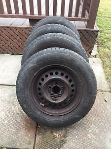 195/70R14 All Season Tires with Rims