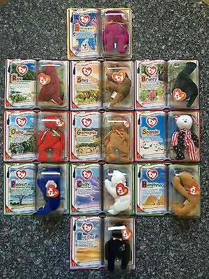 SET of Ty Beanie Baby Collections R McDonald House Charities Teenie Beanies  NEW! 15ab96508a5a