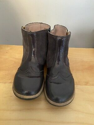Bobux Grey Boots SIZE 31