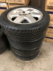 15 inch alll season tires with Alloy wheels