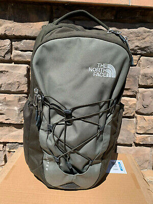 North Face Jester Backpack - Men's - Green/Gray