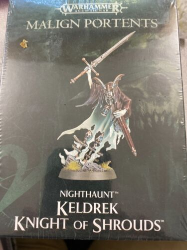 Malign Portents, Keldrek Knight of Shrounds, Nighthaunt, AOS Warhammer, NIB