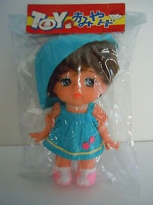 1960'S-1970'S ULTRA RARE & PRECIOUS POPY CANDY CANDY DOLL BIG EYES JAPAN MADE