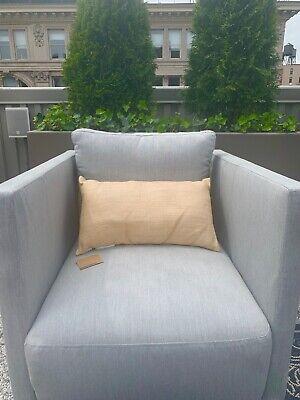 West Elm Outdoor furniture pillow canvas 12