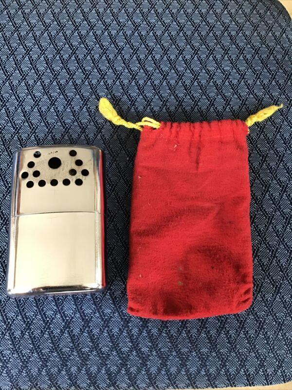 Vintage Older Looking Jon-E Aladdin hand warmer With Bag