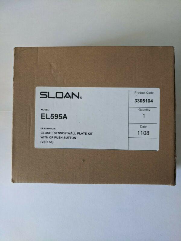 SLOAN MODEL EL595A CLOSET SENSOR WALL PLATE KIT