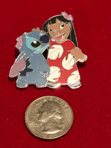 1 Disney Pin  Lilo and Stitch  Standing Together as Seen lot OT