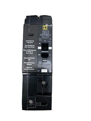 Sq. D Edb14050epd Circuit Breaker 1pole 50a 277v