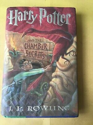 Harry Potter and the Chamber Of Secrets. Hardbound W/DJ JK. Rowling. Magic2