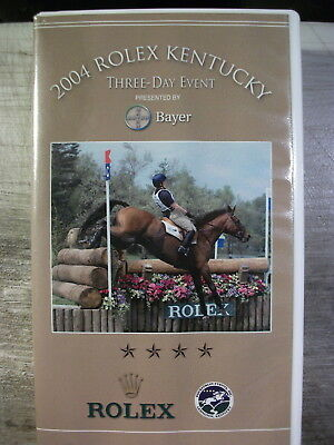 2004 Rolex Kentucky Three Day Event (VHS, 2004) Dressage Competition Video