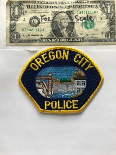 Oregon City Police Patch un-sewn great condition