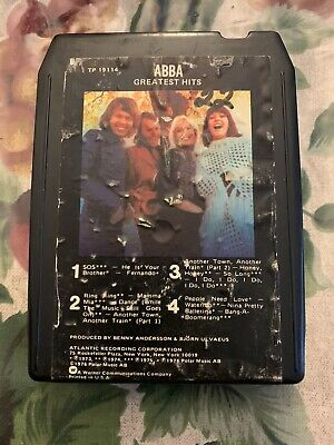 ABBA-Greatest Hits-8 Track Tape-Serviced-New Pad & Splice!