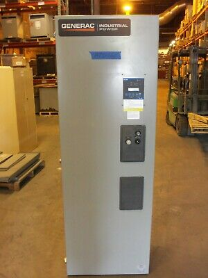 Generac 1000 Amp Ats Automatic Transfer Switch 3 Phase 120v 208v 480v 600v Gfi