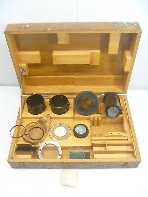 Societe Genevoise Comparator Lens Attachment Lot Sip Ap11 Profile Projector