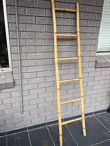 Vintage bamboo ladder for sale Marrickville Marrickville Area Preview