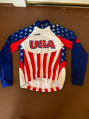 Large Brand New Verge Team Lehigh Thermal Cycling Winter Jacket White//Brown