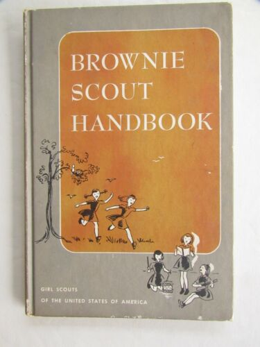 BROWNIE SCOUT HANDBOOK, 1951. by Ray Mitchell, ill. by Ruth Wood