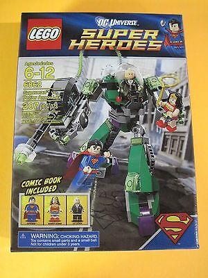 LEGO Super Heroes Superman vs. Power Armor Lex #6862 FACTORY-SEALED NIB