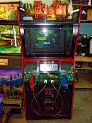 HOUSE OF DEAD 2  ARCADE GAME  #V281