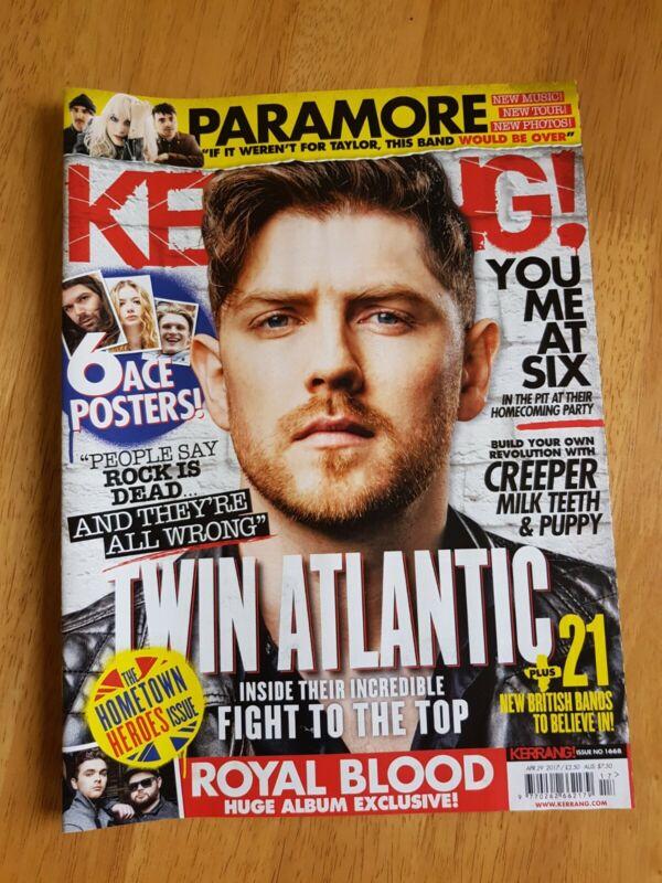 Kerrang%21+Magazine+Issue+%231668+April+29th+2017