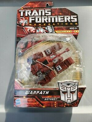 Transformers Universe Classics G1 Warpath Generations