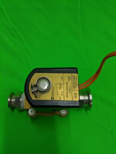 Parker Hannifin Corp Fluidex Div Solenoid PSI 25 to Vacuum 10-6 Torr 11 watts