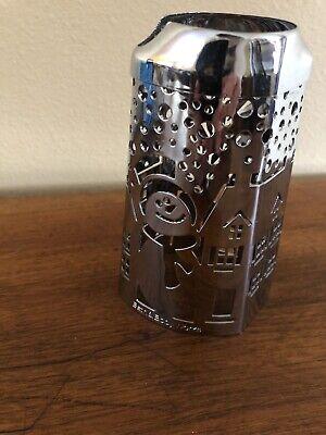 Snowman Soap Dispenser ( Bath & Body Works Snowman Chrome Metal Hand Soap Dispenser Sleeve-)