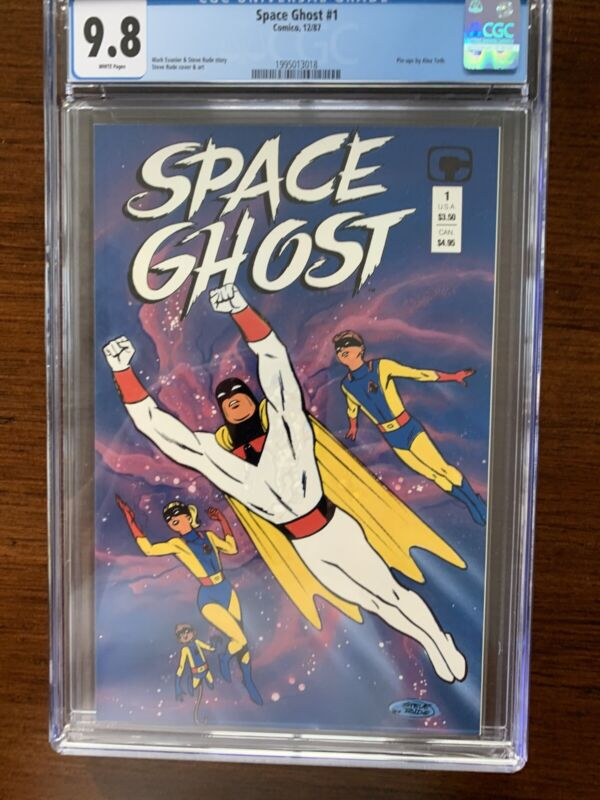 Space Ghost #1 CGC 9.8 (Comico 1987)  Classic cartoon comic!