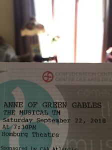 Anne of Green Gables Musical Tickets
